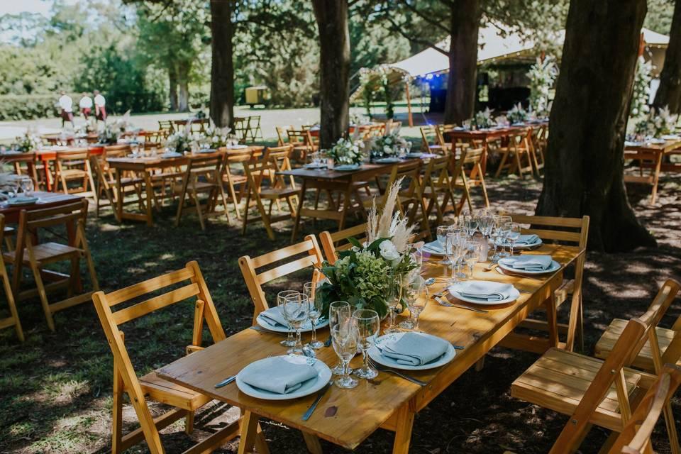 9 ideas fáciles para ahorrar en la decoración del casamiento