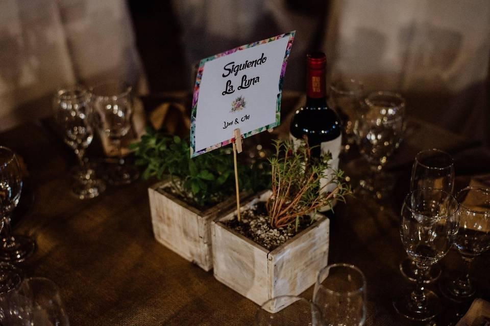 Los números par las mesas: 6 ideas que van a sorprender a sus invitados