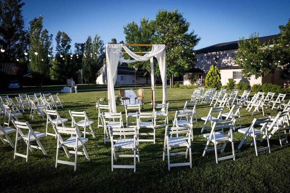Conozcan todas las ventajas de las ceremonias de casamiento con distribución circular