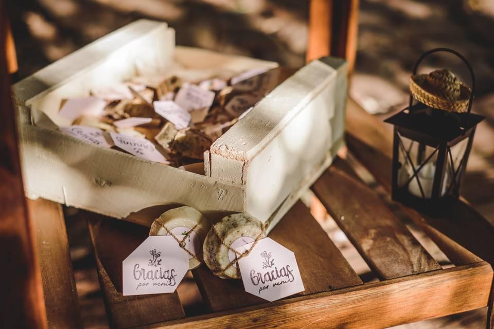 Jabones como souvenirs de casamiento: 6 consejos para sorprender a sus invitados