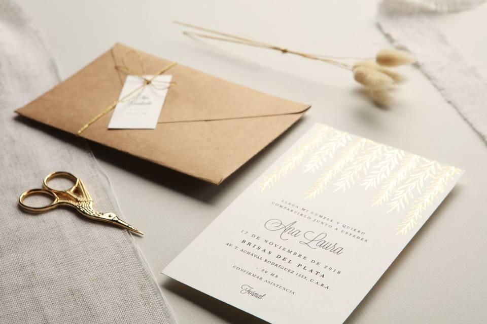 ¿Qué escribir en los sobres de las invitaciones de casamiento?