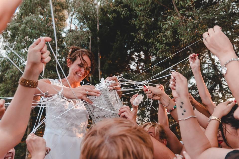 La ceremonia de las cintas: significado y tendencias para actualizar este clásico