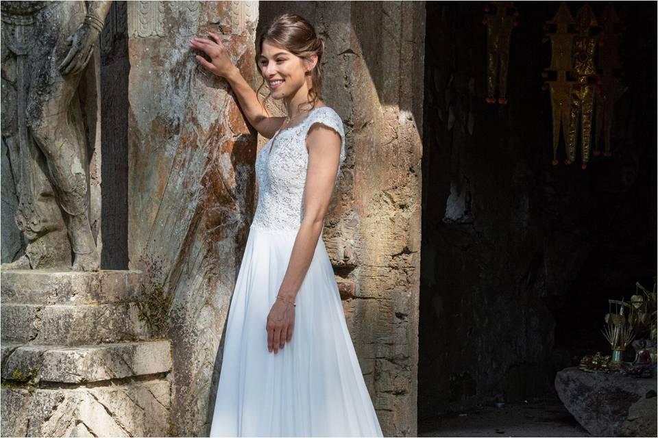 Vestidos de novia Eglantine 2022: una colección muy chic con aire francés