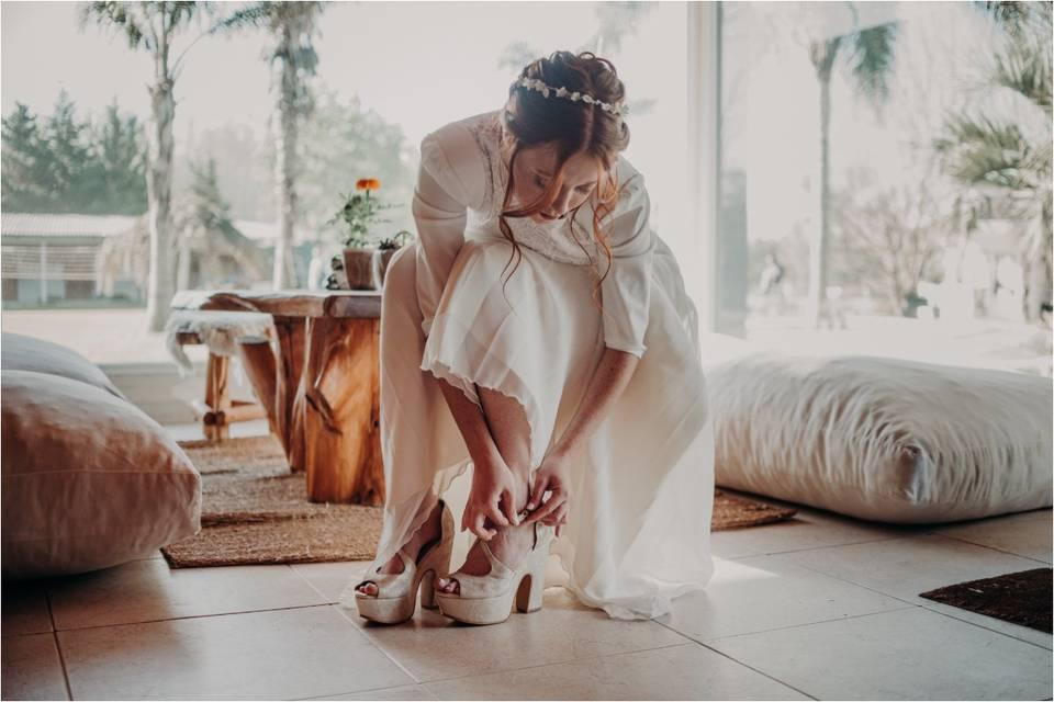 ¿Te casás en una quinta y no sabés que zapatos elegir? 20 ideas para inspirarte