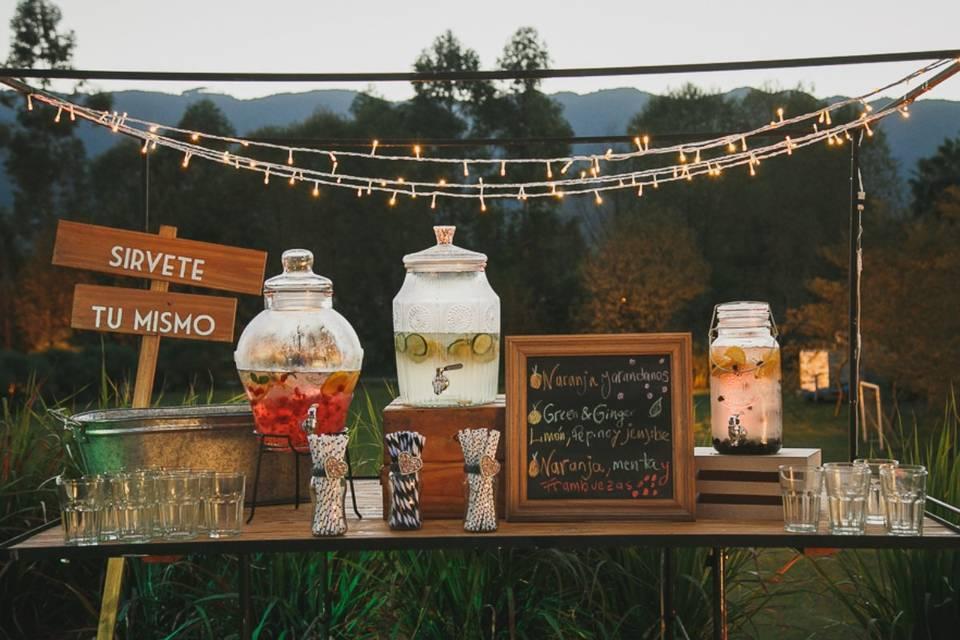 8 ideas para que sus invitados no pasen calor en un casamiento de verano
