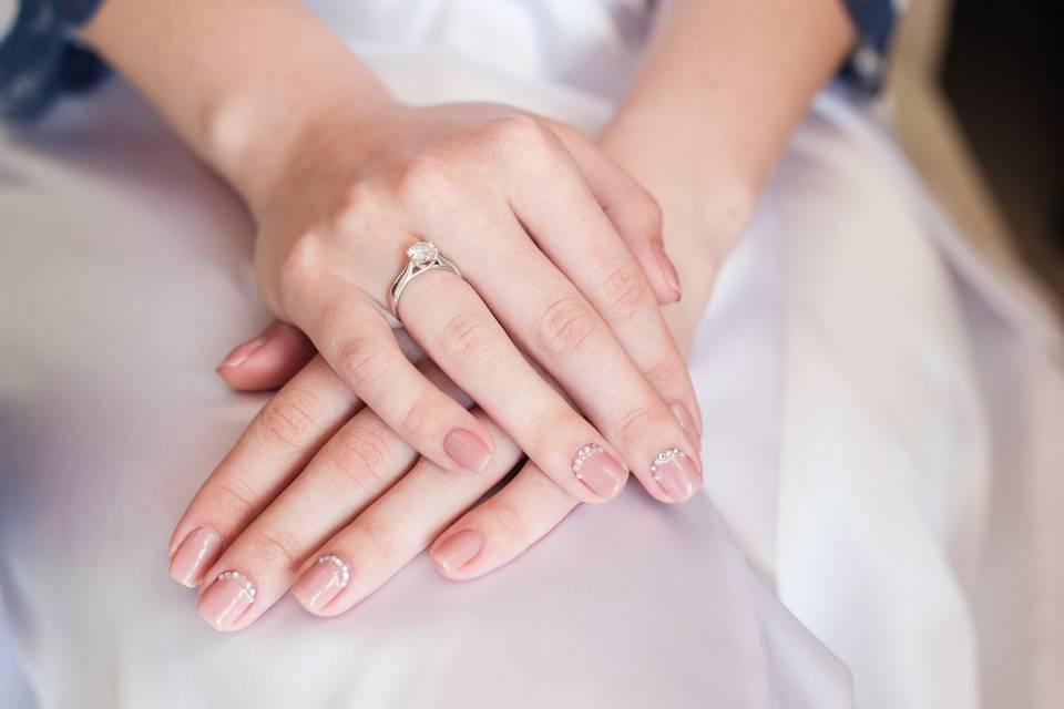 ¿Cuándo deberías hacerte la manicura de novia para el casamiento?
