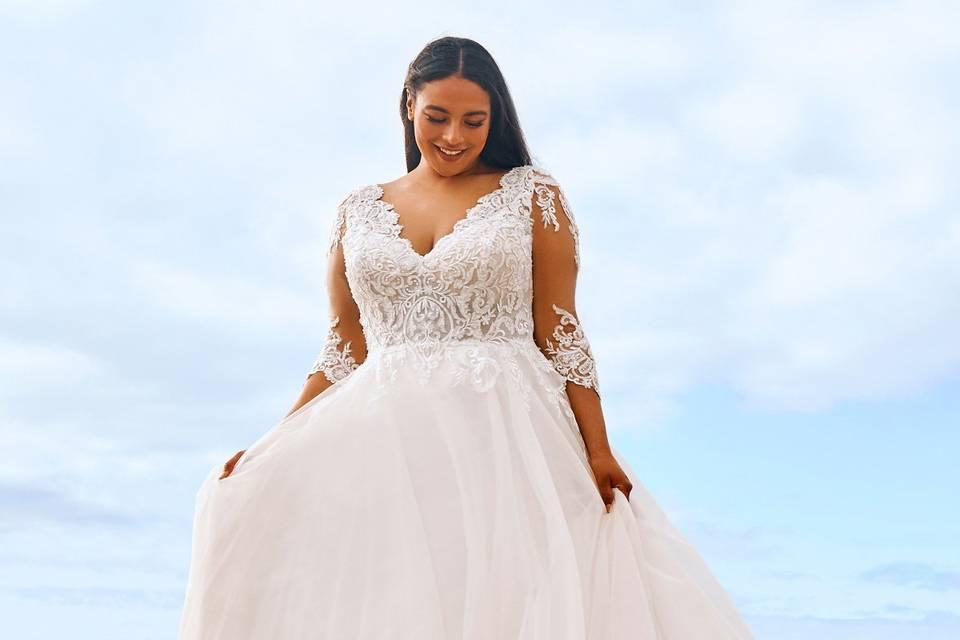 Vestidos de novia Pronovias 2022: una colección llena de sencillez y elegancia