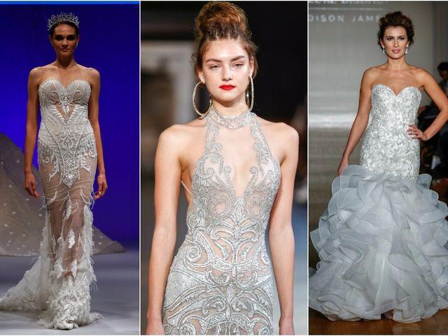 55 vestidos de novia joya para brillar