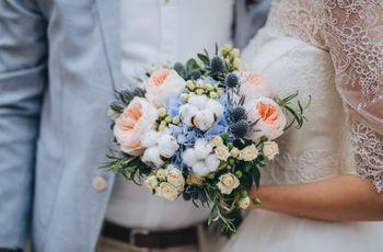 15 ramos de novia con flores silvestres: ¡Volvé a enamorarte!