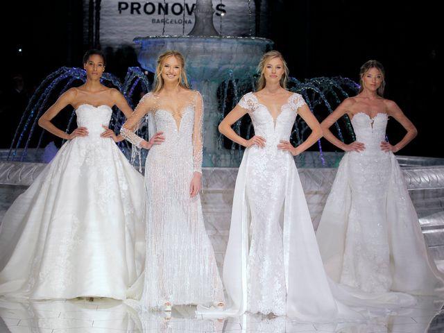 El desfile de vestidos de novia Pronovias 2018 cierra la BBFW