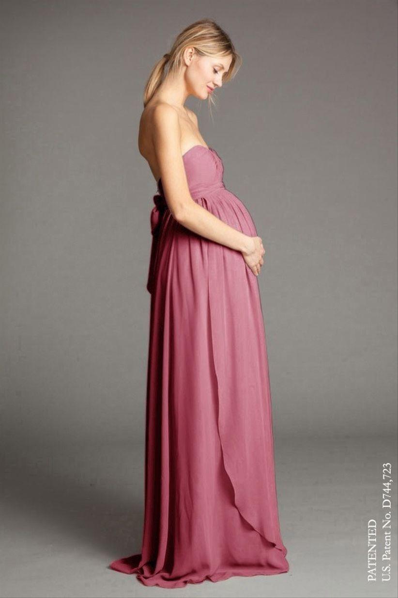 Vestidos de fiesta para embarazadas: 30 looks para futuras mamás ...