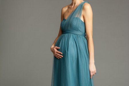 Vestidos de fiesta para embarazadas: 30 looks para futuras mamás estilosas