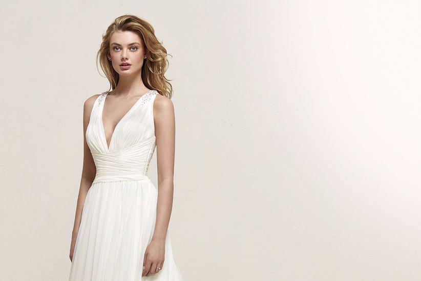 629fd148d3 30 vestidos de novia que te harán parecer más delgada