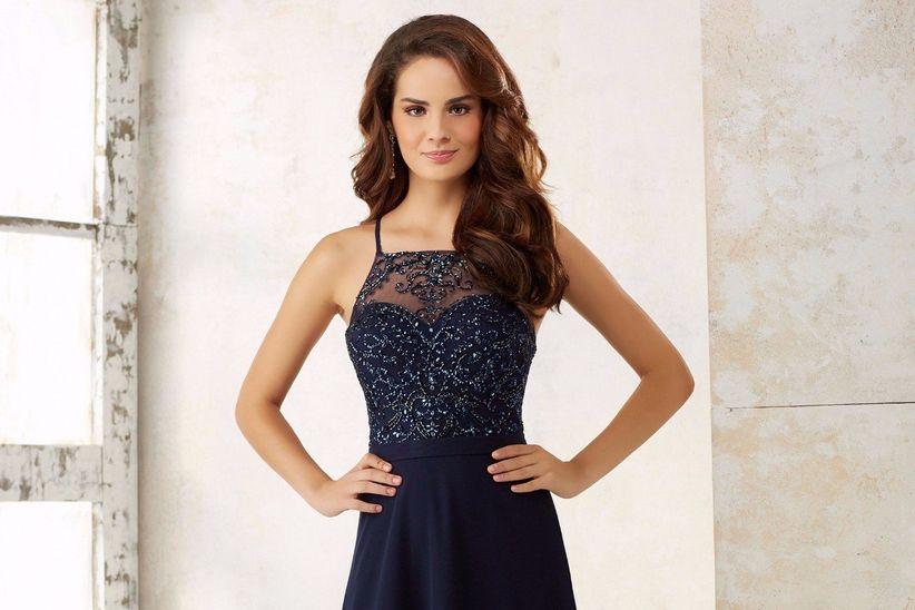 1454afbac 30 vestidos azules para un look de invitada