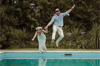 ¿Fiesta de casamiento con pileta? 5 consejos para un festejo a puro sol