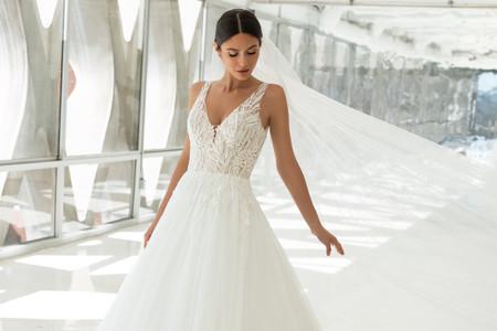 ¿Cómo elegir los accesorios para un vestido de novia princesa?