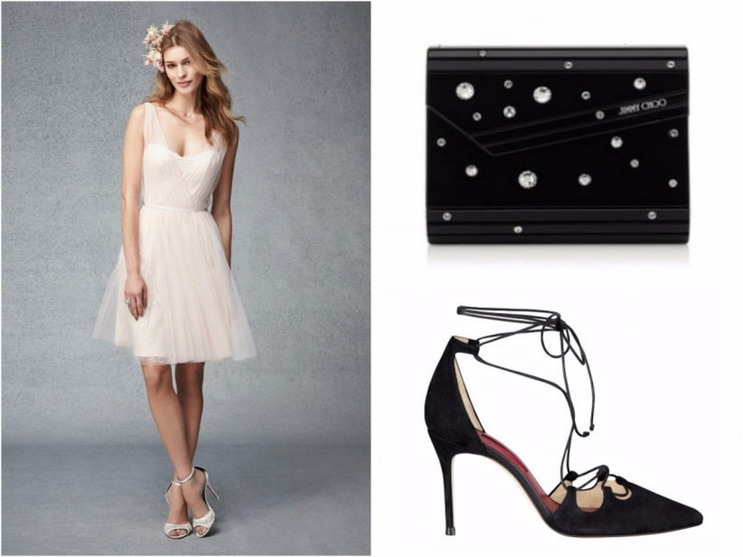 Monique Lhuillier  |  Jimmy Choo  |  Carolina Herrera