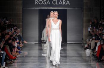 Vestidos de novia Rosa Clará 2020, una colección inspirada en el Art Déco