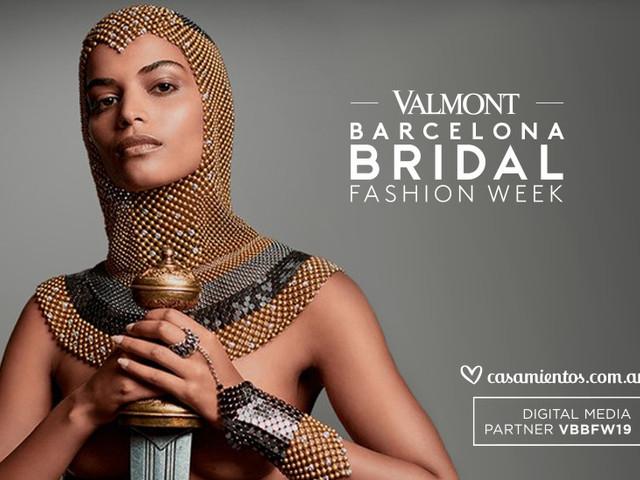 Vestidos de novia 2020: últimas tendencias en la Valmont Barcelona Bridal Fashion Week
