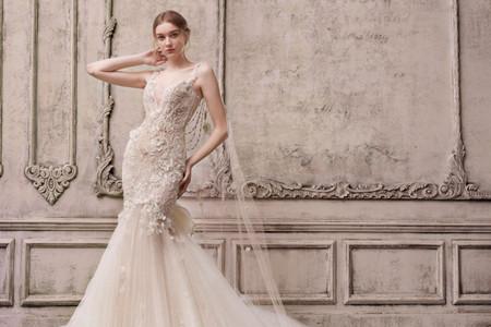 Vestidos de novia color champagne: una alternativa al blanco sin renunciar a su elegancia