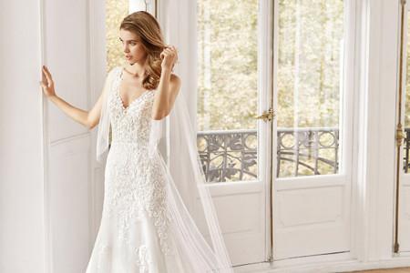 20 propuestas de vestidos para novias románticas