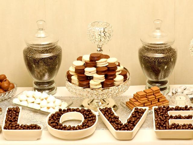 7 formas de incluir chocolate en el catering del casamiento