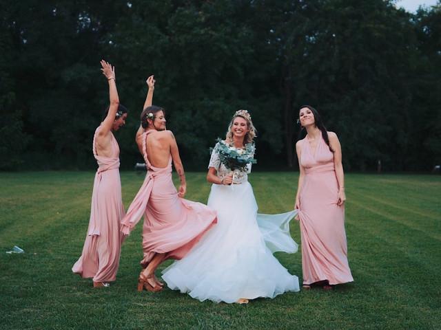 5 consejos para elegir el vestido perfecto para las damas de honor
