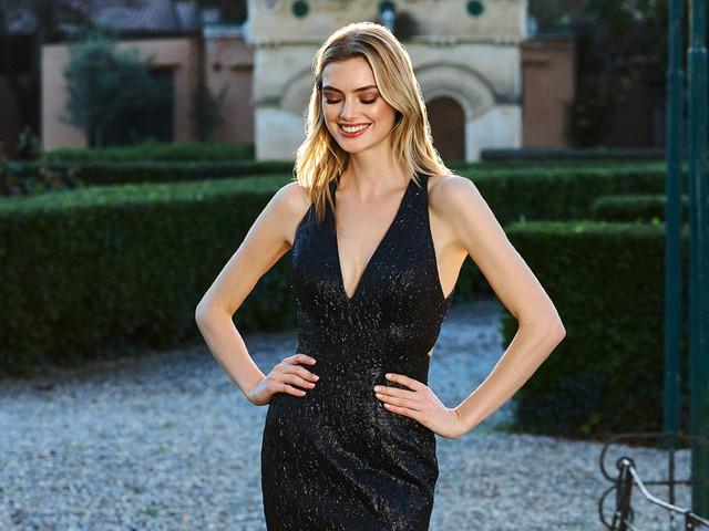 25 vestidos de fiesta negros para invitadas: glamour y elegancia
