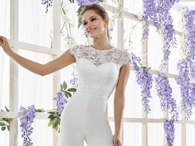 Pantalones para novias: 35 modelos para un look original