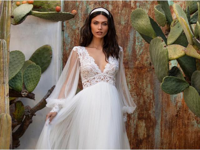 Tipos de mangas para el vestido de novia: estas son las 12 más populares