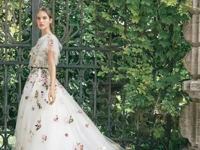 Vestidos de novia estampados: 20 modelos para reinventar tu look