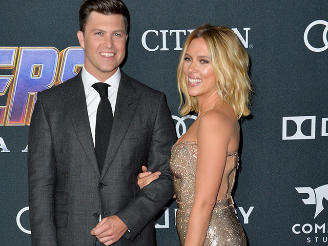 ¡Scarlett Johansson y Colin Jost están comprometidos!