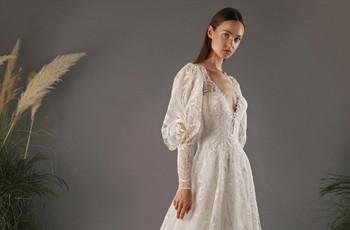 Vestidos de novia y de fiesta que te harán suspirar si sos fan de los Bridgerton
