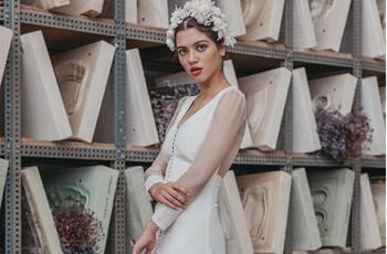 Vestidos de novia Cherubina 2021: moda nupcial con aires retro