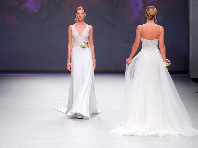 Aire Barcelona 2020 en la VBBFW: vestidos para novias de espíritu libre