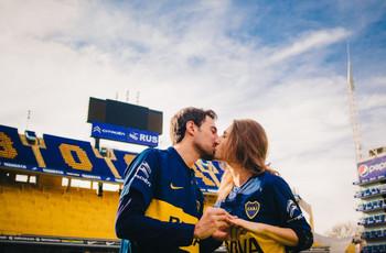 ¿Cómo incluir su pasión por el fútbol en el casamiento?