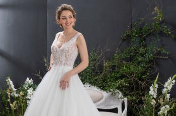 Tul para el vestido de novia: consejos y tipos de género
