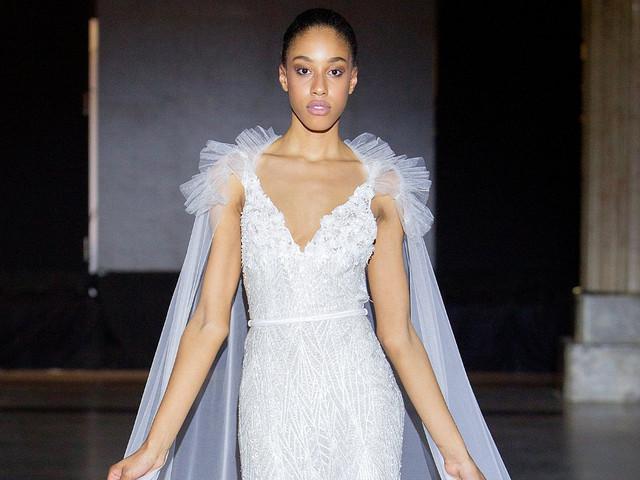 Vestidos de novia Javier Saiach: la naturaleza como musa inspiradora
