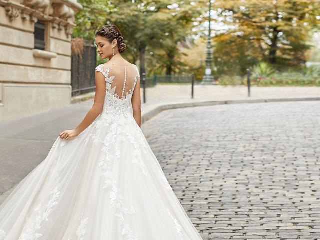 50 vestidos de novia con espaldas increíbles: conseguí un look romántico y sensual