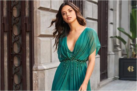 50 vestidos de fiesta de color para invitadas que quieran marcar la diferencia