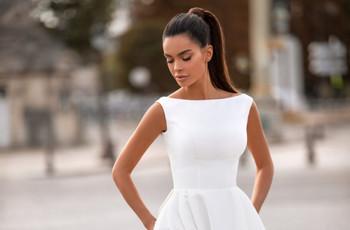 """5 claves para conseguir un look de novia minimalista y apostar por el """"menos es más"""""""