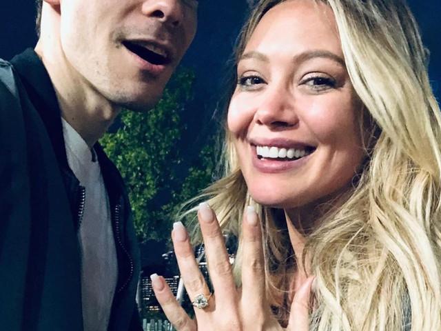 ¡Hilary Duff y Matthew Koma están comprometidos!