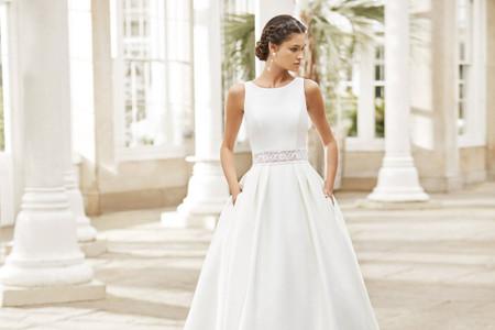 Vestidos de novia con bolsillos: comodidad y estilo para tu look
