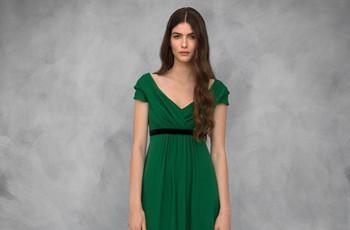 20 vestidos de fiesta verdes para un look de invitada con mucha personalidad