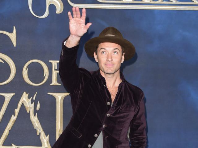 Jude Law se casa por sorpresa en Londres en una íntima ceremonia