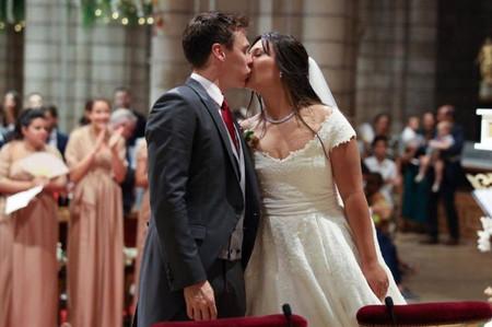Marie Chevallier se casa con Louis Ducruet y deslumbra con diseños de Rosa Clará
