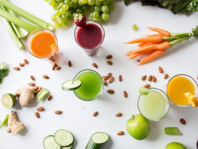 Jugos nutritivos para cuidarte antes o después del casamiento