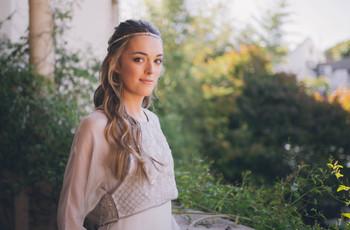 Peinados de novia con pelo largo: 5 ideas con mucho estilo