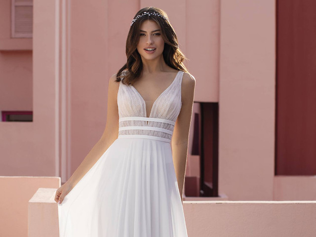 Vestidos de novia con corte imperio: 25 modelos para lucir tu figura