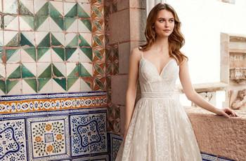 Vestidos de novia color marfil: 25 modelos muy favorecedores